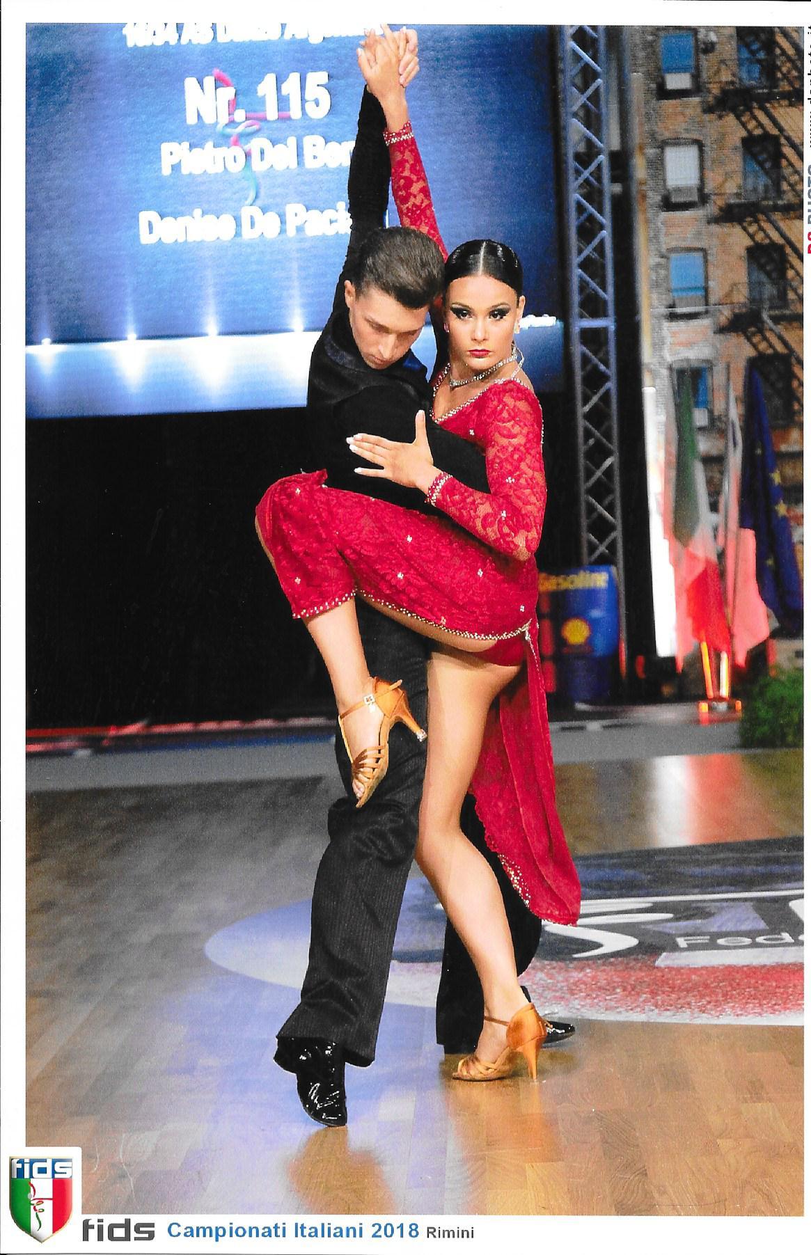 Pietro e Denise - 2018 campionato italiano PD tango argentino