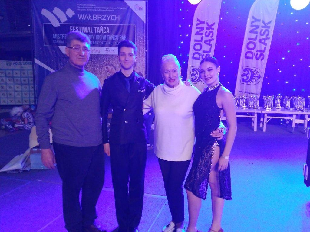 Campionato Europeo 2019 Danze Argentine - Denise e Pietro
