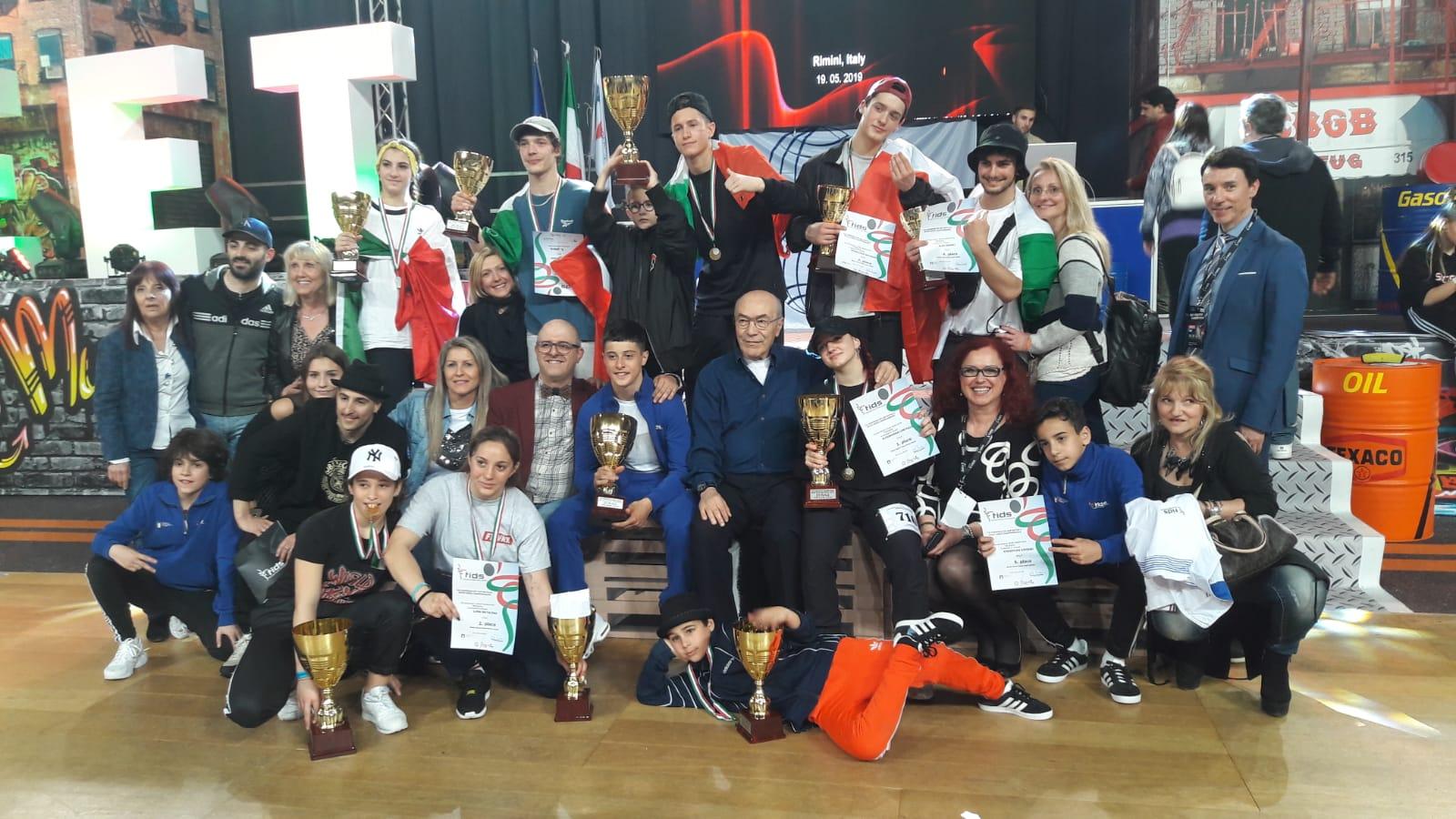 campionato europeo IDO 2019 - gran finale - foto gruppo